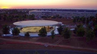 APPLE PARK: Late June 2017 -- A look inside Steve Jobs Theater