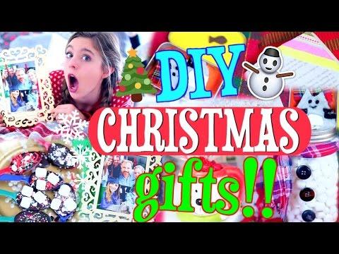 DIY Christmas Gifts!! | How to Make EASY Christmas Presents FAST!!