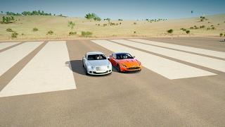 2017 Aston Martin DB11 vs Bentley Continental GT Speed - DRAG RACE! Forza Horizon 3