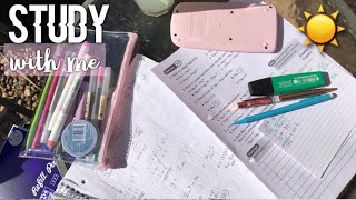 GET PRODUCTIVE  WITH ME IN EXAM SEASON // WEEKLY STUDY WITH ME #3
