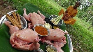 Chicken Recipe ❤ Village Special Spicy Chicken Curry prepared by Grandma   Village Life