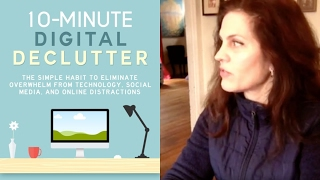 Tips for digital decluttering: Minimalist computer and smart phone ideas
