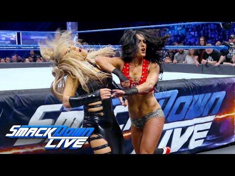 Xxx Mp4 Nikki Bella Vs Natalya Falls Count Anywhere Match SmackDown LIVE Feb 21 2017 3gp Sex