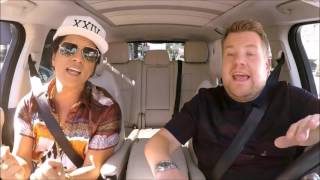 Bruno Mars Sings If I Knew  Bruno Mars Carpoo
