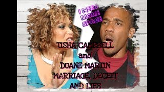 Tisha Campbell and Duane Martin Marriage, Deceit and Lies Exposed