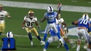 Duke RB Shaun Wilson Throws Jump TD Pass vs. Georgia Tech