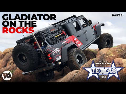 Xxx Mp4 Rock Crawling Texas At NITTO JEEP EXPERIENCE Featuring EVO Gladiator Truck MILD 2 WILD PART 1 3gp Sex