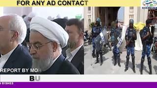 PRESIDENT OF IRAN VISITED MACCA MASJID FOR FRIDAY PRAYER.  H.E. DR. HASAN ROUHANI (HON