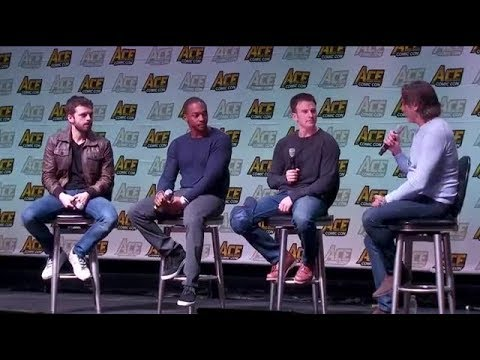 Xxx Mp4 Sebastian Stan Chris Evans And Anthony Mackie At ACE Comic Con 3gp Sex