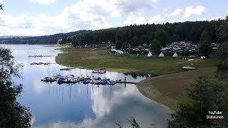 Wanderung um den Sorpesee Sundern Sorpetalsperre Stausee Sauerland Sorpe Dam Talsperre
