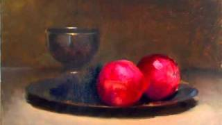 Still life painting 'old master' style