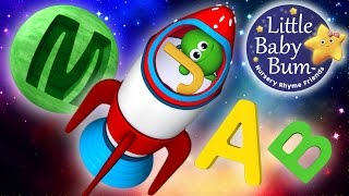 ABC Song   In Outer Space   Nursery Rhymes   Original Song By LittleBabyBum!