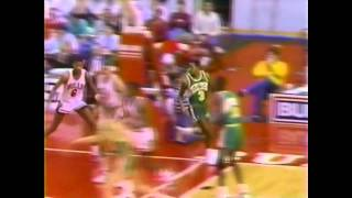 Michael Jordan (39points) Vs Dale Ellis (34points), 1987-88, Highlights