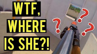 She Disappeared! | Player Unknown's Battlegrounds Airsoft (Pick Up ALL the Airsoft Guns)