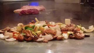 1080p Test and Voice Disabled: Chef is Cooking at Osaka Japanese Cuisine