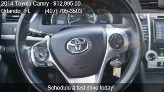 2014 Toyota Camry SE 4dr Sedan for sale in Orlando, FL 32807