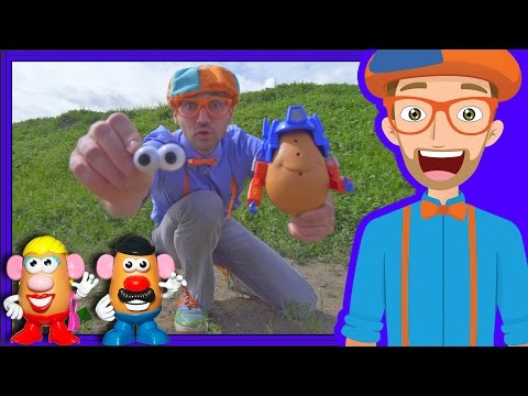 Xxx Mp4 Potato Heads With Blippi On The Farm Videos For Toddlers 3gp Sex