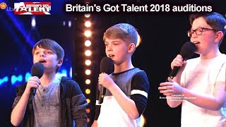 Made Up North Young Boy Singing Group Auditions Britain's Got Talent 2018 BGT S12E06