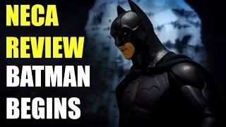 NECA BATMAN BEGINS REVIEW 7inch FIGURE
