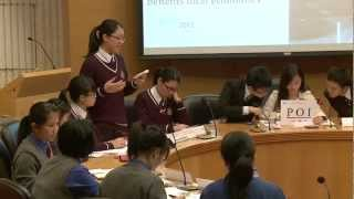 The Grand Final of Interschool Debate Competition on Asia-Pacific Affairs