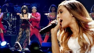 Ariana Grande Calls Out Selena Gomez for Jingle Ball Lip Sync?!