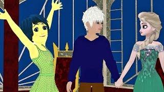 A Joy Day! - Elsa & Anna of Arendelle Episode 39 - Frozen Inside Out Parody