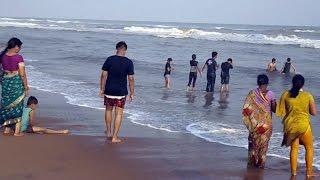 Beautiful and Heart touching Puri Sea Beach in Odisha India