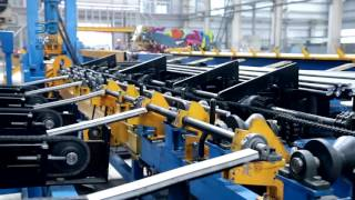 Full automatic anchor bolt production line