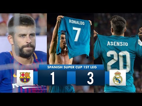 Xxx Mp4 Barcelona 1 3 Real Madrid HD 1080i Spanish Super Cup Full Match Highlights 13 08 17 3gp Sex