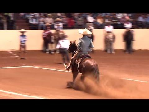 Las mejores 5 Calas de caballo – Nacional Charro Querétaro 2015