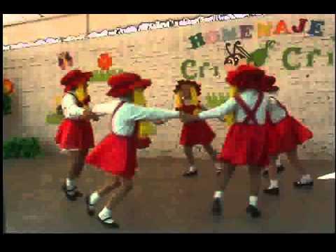 Baile La muñeca Fea Festival de la Primavera Jardín de Niños José Vasconcelos Lerdo Dgo.