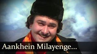 Aankhein Milayenge - Randhir Kapoor - Parveen Babi - Bhanwar - Kishore Lata Duet - R.D. Burman
