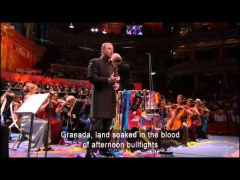Joseph Calleja - Granada - Last Night of the Proms 2012
