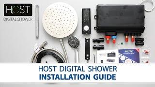 HOST Digital Shower   Step by step Installation Guide