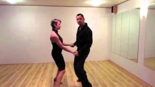 American Swing Basic Steps