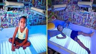 """ما سوف تشاهدة سيجعلك تعرف قيمة العافية """" طفل يجبر على البقاء 20 ساعة كل يوم تحت الضوء الأزرق """"... !"""