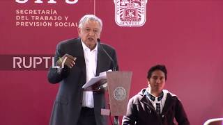 Mexico: Lopez Obrador announces anti-poverty measures to combat fuel theft