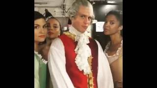 King George III's thoughts on brexit with The Schuyler Sisters from Hamilton