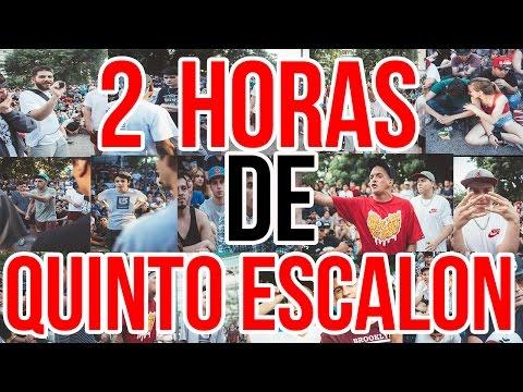 2 HORAS DE QUINTO ESCALON BATALLAS CON MAS VISITAS Batallas De Gallos