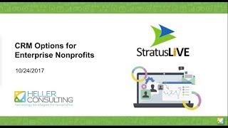StratusLIVE - CRM Options for Enterprise Nonprofits