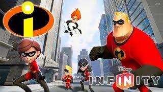 OS INCRÍVEIS Super Heróis Jogos de Desenho Animado em Português Infantil - Disney Infinity