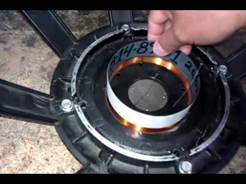 Fabricacion de bobina yorkville in out. RAUL HDZ.