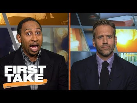 Xxx Mp4 Stephen A Smith Fired Up Over Michael Jordan S Superteam Comments First Take ESPN 3gp Sex