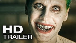 SUICIDE SQUAD Official Comic Con Trailer (2016)
