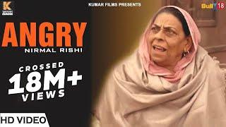 Angry Nirmal Rishi - Best Scene 2018 | Latest Punjabi Movies 2018 | Kumar Films