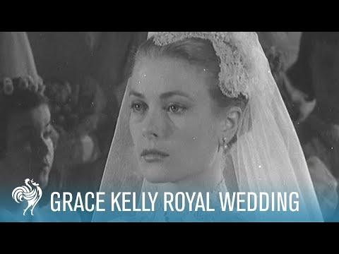 Grace Kelly Royal Wedding to Prince Rainer III (1956) | British Pathé