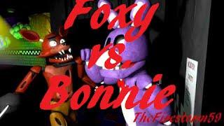 [SFM] FNAF | Foxy vs. Bonnie (150 Subs Special)