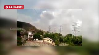 Footage of the Meethotamulla Garbage Dump Collapse