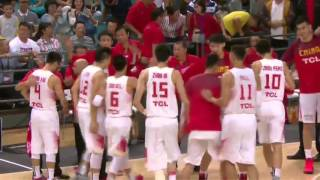 FIBA ASIA 2015 Philippines VS China Gold Medal Game 1st Quarter