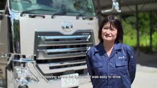 UD Trucks - All New Quon dump truck, customer feedback